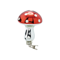 Mushroom w/clip Joselyn, Red
