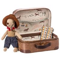 Cowboy mus i resväska