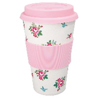 Travel mug Constance, White