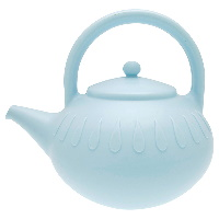 Watering can, Pale blue