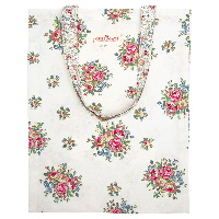Bag cotton Franka, White