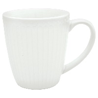 Mugg Alice, White
