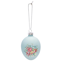 Egg hanging Franka, Pale blue