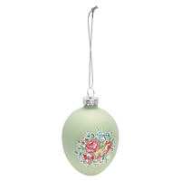 Egg hanging Franka, Green