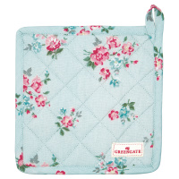 Pot holder Sonia, Pale blue set of 2 pcs