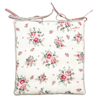 Seat cushion Elouise, White