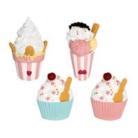 Magnet Ice cream, Pastel mix set of 4