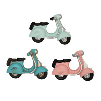 Magnet Scooter, Pastel mix set of 3