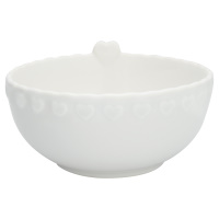 Bowl Penny, White medium