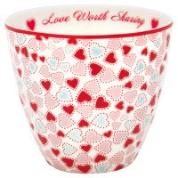 Lattemugg Love, White