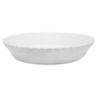 Pie plate Penny, White