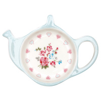 Teabag holder Sonia, White
