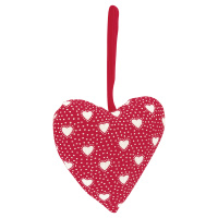 Heart Penny, Red set of 2 pcs
