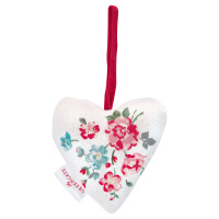 Heart Sonia, White set of 2 pcs