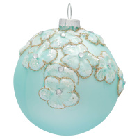 Ball glass Sonia, Pale blue
