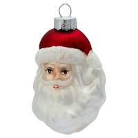 Santa glass, White beard