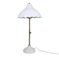 Bordslampa Annie, Antik Vit