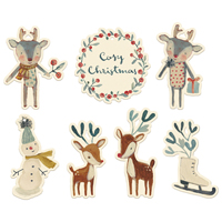 Gift tags, Cosy christmas 14 pcs