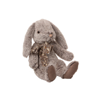 Fluffy Bunny, Large Grey