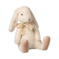 Fluffy Bunny, X-Large White