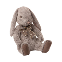 Fluffy Bunny, X-Large Grey
