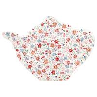 Coaster teapot Clementine, White