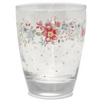 Water glass Clementine, White