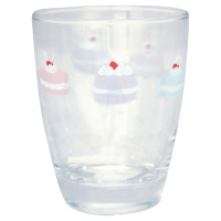 Water glass Madelyn, White