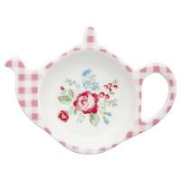 Teabag holder Henrietta, White