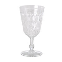 Acrylic Wine Glass, Clear