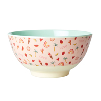 Melamine Bowl with You go girl Print, Medium