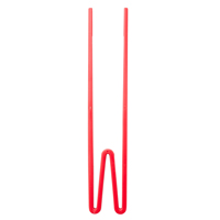 Melamine Chopsticks, Red