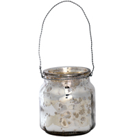 Tealight hanging, Silver