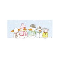 Tore kort, Fem snögubbar