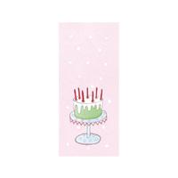 Tore kort, Tårta på fat