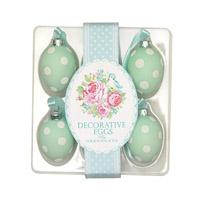 Easter egg June, Mint 6 pcs