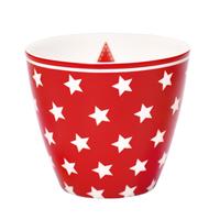Lattemugg Star, Red