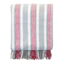 Woolen blanket Zoe, Linen