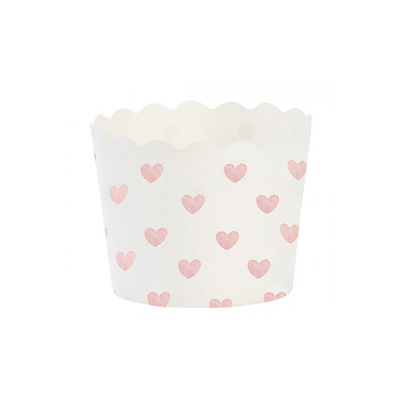 Baking cup, Rose heart