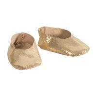 Ballerinaskor med hårband, Guld