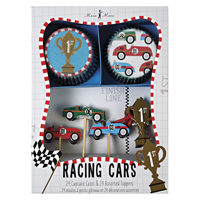 Cupcake kit, Racing cars