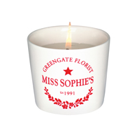 Candle tealight Sophie, Red