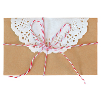 Card kit Star, Red