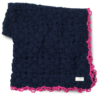 Couch lover solid blanket, Dark indigo