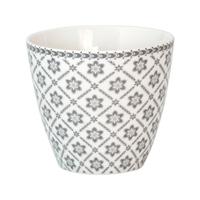 Lattemugg Alba, Pale grey