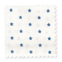 Tyg Small star, Indigo