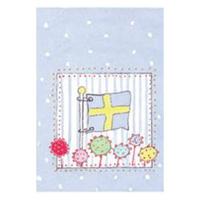 Senaste nytt Pyttekort, Svensk flagga