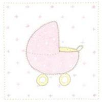 Senaste nytt Doris kort, Barnvagn rosa
