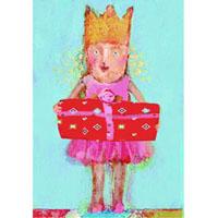 Senaste nytt Kort med kuvert, Prinsessa