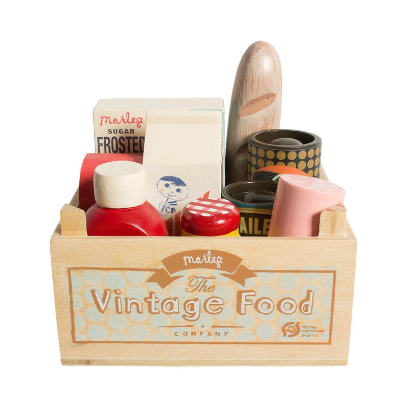 a10225x.jpg - Vintage food, låda med matvaror - Elsashem Butiken med det lilla extra...